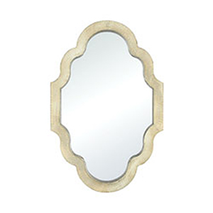 Poitiers Champagne Gold Mirror