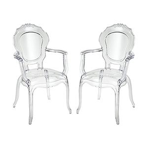Vie Clear 22-Inch Chair