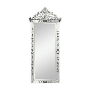 Silver Manor House Venetian Mirror