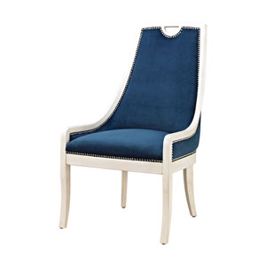 Constanzie Capuccinno Foam Navy Chair