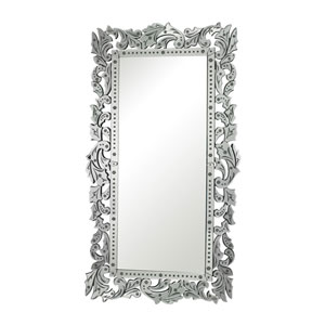 Clear and Rectangular Mirror 72.25-Inch Rectangular Mirror