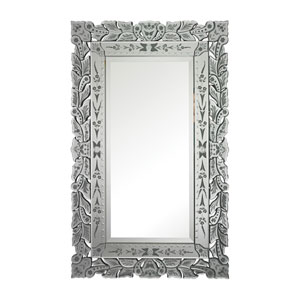 Clear and Rectangular Mirror 50-Inch Rectangular Mirror