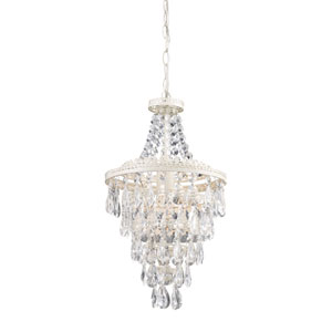 Clear Crystal One-Light Pendant