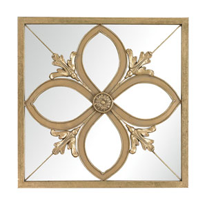 Albern Gold Leaf 20-Inch Square Mirror