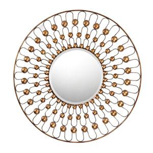 Antebellum Bronze 36-Inch Round Mirror