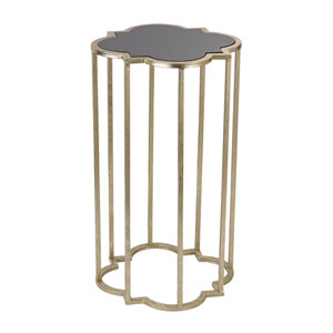 Soft Gold Mission Cocktail Table
