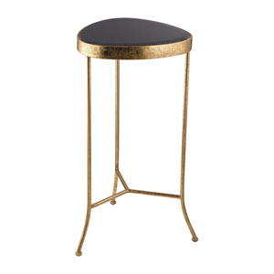 Black and Gold Onyx Cocktail Table