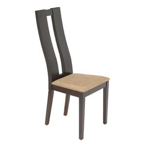 Dark Roast 47-Inch Accent Chair