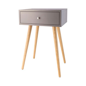 Astro Coll Grey Accent Table
