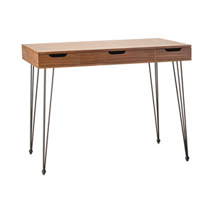 Cosmo Walnut Veneer Desk