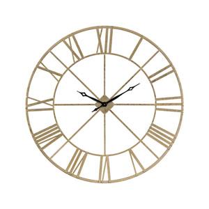 Pimlico Gold Wall Clock