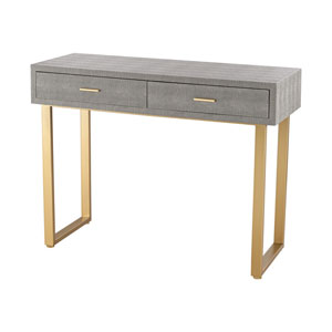 Nassau Gold Grey Desk