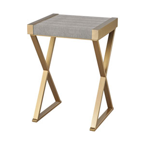 Sands Gold Grey Accent Table