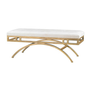 Miracle Mile Gold Oyster Bench