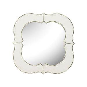 Marie Wood Natural Linen Mirror