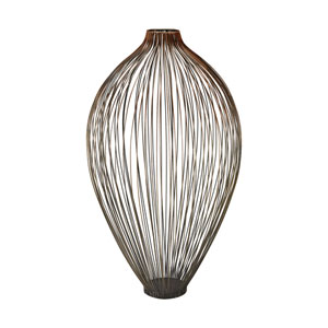 Thrum Copper Ombre Vase