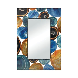 Demetrios Printed Agate Wall Mirror