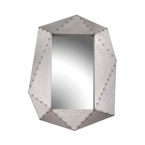 Hedron German Silver Mirror