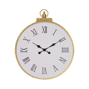 Karlova Gold Leaf Wall Clock