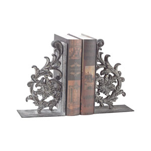 Set of 2 Whitton Windfort Rust Bookends