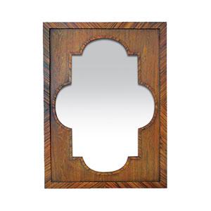 Constantinople Wood 44-Inch Rectangular Mirror