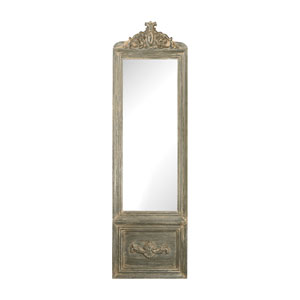 Bastille Grey White Wash Mirror