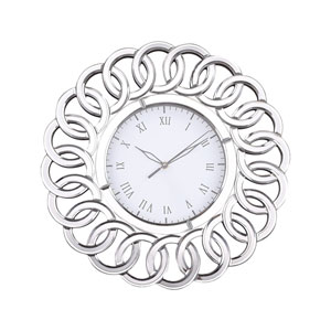 Châtelaine Mirror Wall Clock