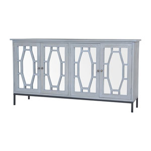 Presidio II Gravesend Grey Cabinet Server