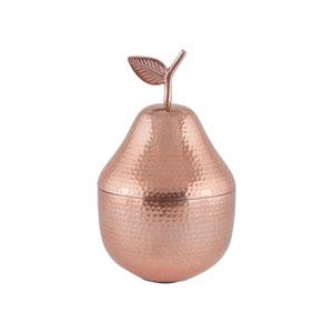 D Anjou Copper Decorative Pear Container