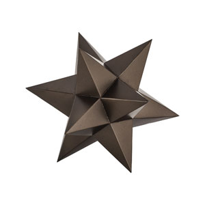 Aged Bronze Table Top Stars