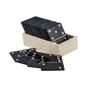 Motto Black White Domino Game