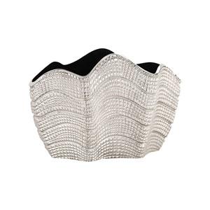 Swells Nickel Vase