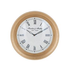 Carfax Crossing Gold Wall Clock