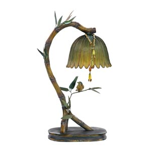 Perching Finch Desk Lamp