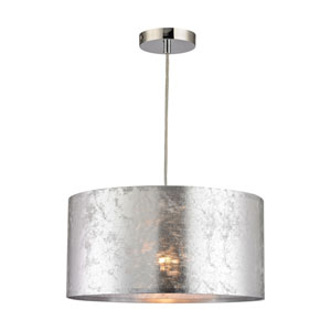 Tsar Silver One-Light Pendant