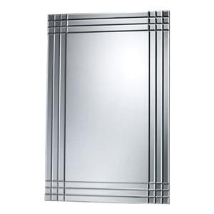 Glass 34-Inch Rectangular Mirror