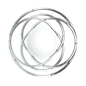 Clear Milton Round Mirror