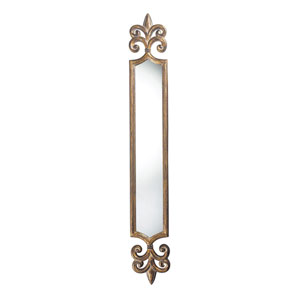 Wheling Antique Gold 59-Inch Arched and Crowned Mirror