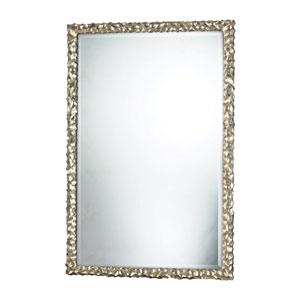 Silver Leaf 45-Inch Rectangular Mirror