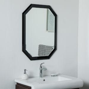 Silver ADA Frameless Bathroom Wall Mirror