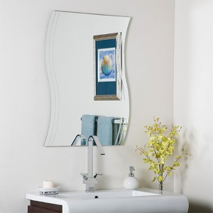 Frameless Wave Mirror