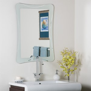 Butterfly Frameless Mirror