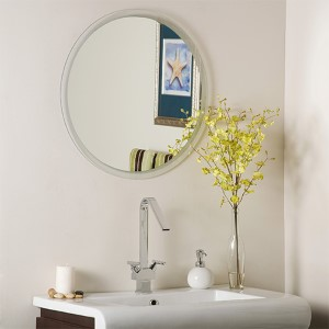 Contempo Round Frameless Bathroom Mirror