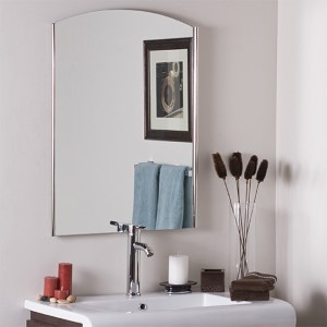 Vista Frameless Wall Mirror