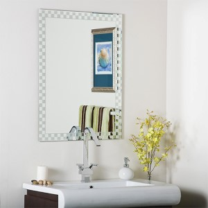 Checkmat Frameless Wall Mirror