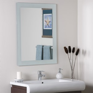 Sands Large Frameless Mirror