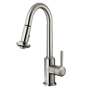 Vigo Stainless Steel Pull Out Spray Kitchen Faucet Vg02014st ...