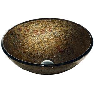 Textured Copper Vessel Sink