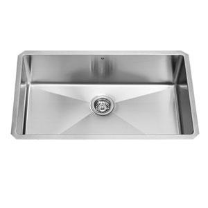 32 Inch Mercer Stainless Steel Undermount Kitchen Sink