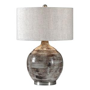 Tamula Distressed Ivory Table Lamp